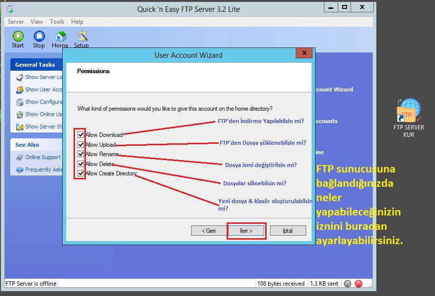 Keyubu FTP örnek 4